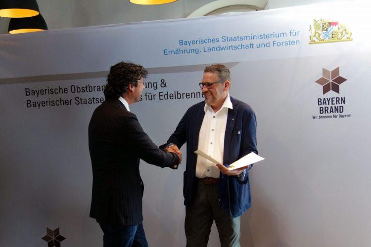 Verleihung am Bodensee durch Herrn Franzl