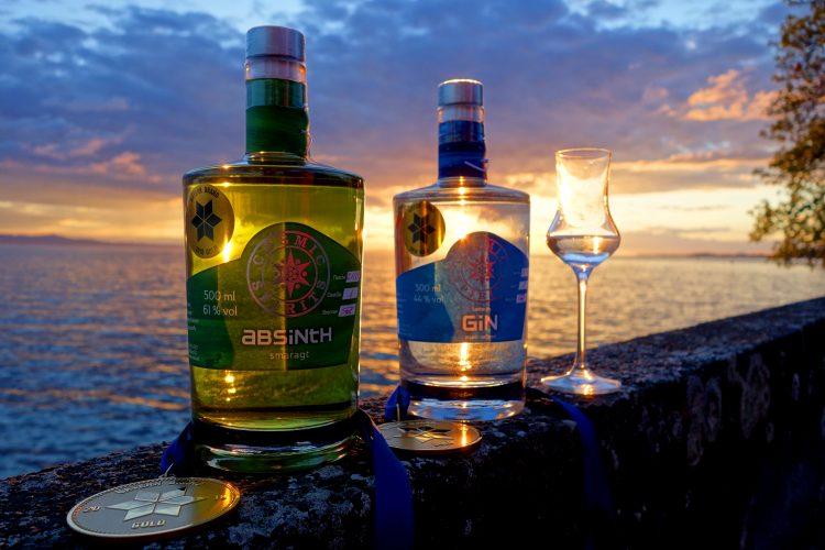 Verleihung am Bodensee Sonnenuntergang