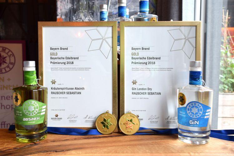 Verleihung am Bodensee die Medaillen