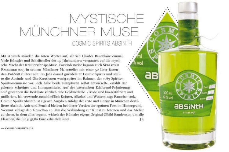 Bericht im Mixology Magazin